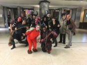 SF's Krampus Wandering Guerilla Theater | Union Square