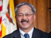 Goodbye Ed Lee: City Hall Flags at Half-Mast | SF