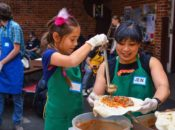 """SF's """"Burrito Project"""" Volunteer Feeding the Hungry   SF"""