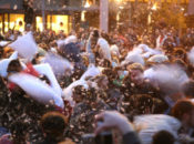 Valentine's Day Pillow Fight 2018 | San Francisco