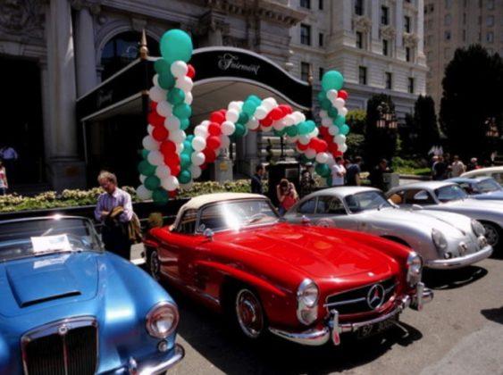 Historic Ss Italian Race Car Show The California Mille - California car shows