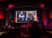 Super Bowl Sunday Party: Two 20 Foot Projector & 50-Foot Screen | Emporium