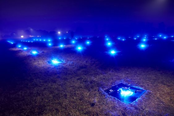 intel s drone light shows peek behind the scenes soma