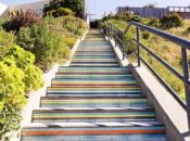 Bicycle Tour of SF's Street Parks: Slides, Gardens & Tiled Stairs | Potrero Hill