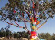 Yarn Tree Wrapping: SF's Afternoon Art Break | Asian Art Museum