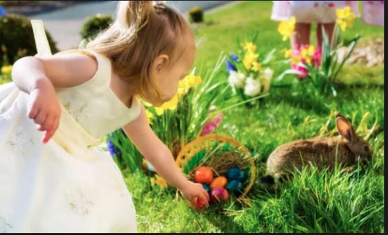 Helyer County Park Playground Easter Egg Hunt