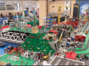 "2018 ""Brickshow"" Opening Day: Large Lego City Exhibit & Playroom 