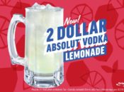 Applebee's $2 Vodka & Lemonade Month | March 2018