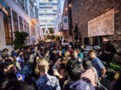 """VIP Entrance """"Cuatro de Mayo"""" Alley Party   Taverna Aventine"""