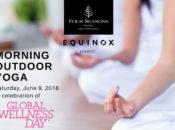 Four Seasons Hotel Free Outdoor Yoga | SF