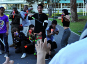 """Humans Versus Zombies"" Insane Nerf Tag 