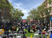 Warriors NBA Finals 9th Street Outdoor Watch Party: Game 3 | Oakland