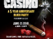 Novela's 5 Year Anniversary Block Party: Casino Games & Prizes | SF