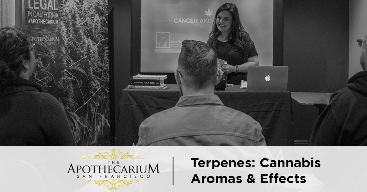 Terpenes: Free Class on Cannabis Effect & Aromas | SF