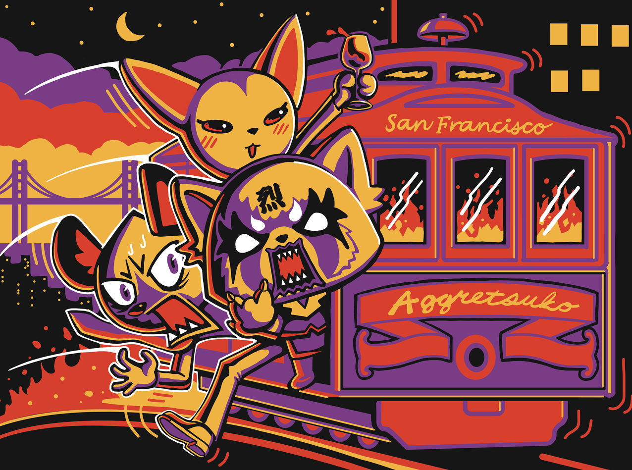 """Newest Sanrio Character """"Den of Rage"""" Pop-Up Experience  July 20-31"""