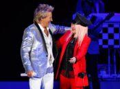Rod Stewart w/ special guest Cyndi Lauper   Shoreline Amphitheatre