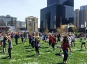 Free 'UrbanKick' Fitness Class on the Rooftop | Salesforce Park