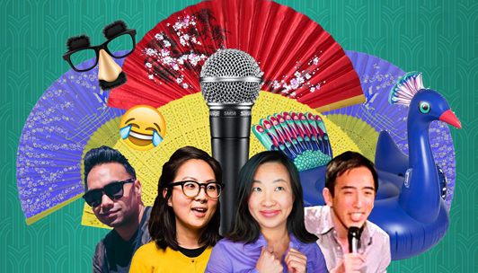 """Cambodian New Year's """"Crazy Funny Asians"""" Live Zoom Comedy"""
