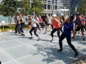 Free Rooftop Cardio Dance Class in the Park | Salesforce Park
