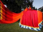 SF's Amazing 11-foot-tall Sari Dress Tent | Asian Art Museum
