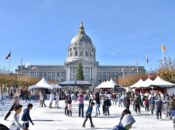 "Free Ice Skating Night at SF's New ""Winter Park"" Ice Rink 
