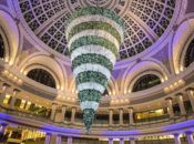 Final Day to See SF's Upside Down 50-Foot Crystal Tree