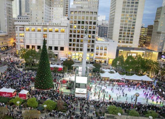 Christmas In San Francisco.2018 San Francisco Tree Lighting Christmas Holiday Events