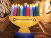 2019 Hanukkah Festival of Lights: Bounce House & Family Zumba | Marin