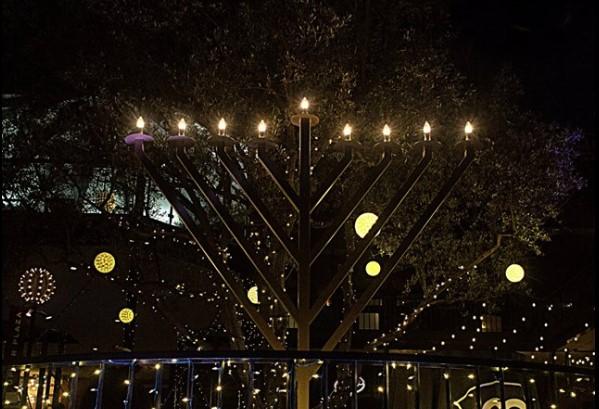 2019 Quot Light Of Menorah Quot Pop Up Glowing Hanukkah Party
