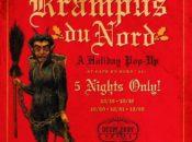 """""""Krampus du Nord"""" Holiday Pop-Up Bar   Dec 15-22"""
