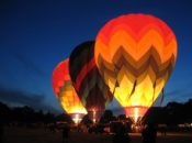 """Night Bloom"" Napa's After Dark Hot Air Balloon Experience 