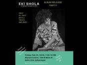 Eki Shola's Chilltronica & Jazz Album Release Party | The dhyana Center