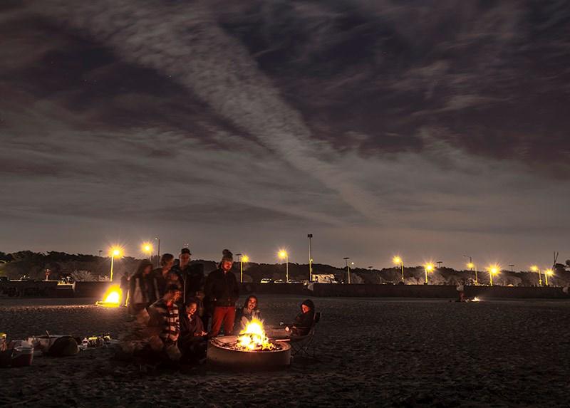 Ocean Beach Bonfires Return for 2020   SF