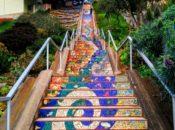 Glen Park Peaks & Pints Hike: Gorgeous Views, Mosaic Steps & Drinks | SF