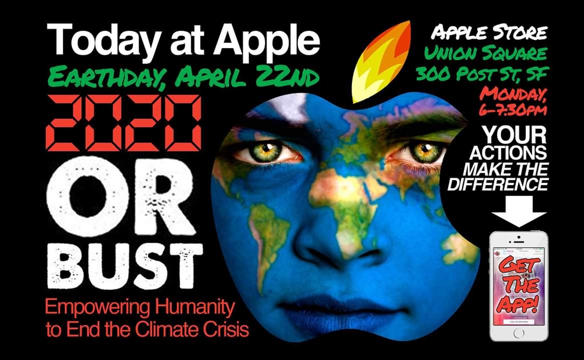 Today at Apple Earth Day: 2020 or Bust | SF