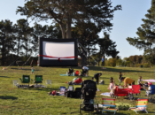 "3rd Friday: Free Outdoor Movie & Free Popcorn ""Incredibles 2"" 