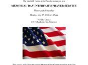 "Memorial Day Interfaith Prayer Service: ""Honor & Remember"" | The Presidio"