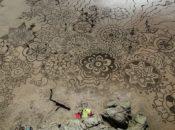 The Earthscape Art Experience: Collaborative Temporary Beach Art   SF