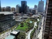 SF's Rooftop Park Re-Opening Day | Salesforce Park