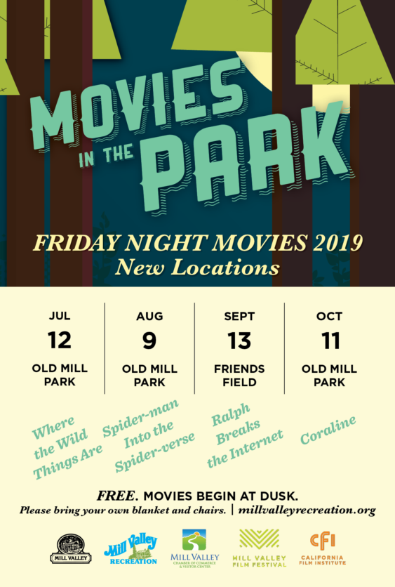 Free Movies in the Park: Wreck it Ralph 2   Mill Valley