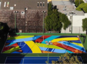 Kevin Durant's Brand New Colorful Basketball Court Opening | Hayes Valley
