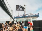"""50% Off: Daybreaker's Epic """"Pirates on the Bay"""" Boat Party 