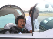 """""""Kids Fly Free"""" Youth Plane Rides 