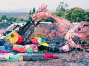 "The Bay's Epic ""Trash Party"" Turn Trash Into Art 