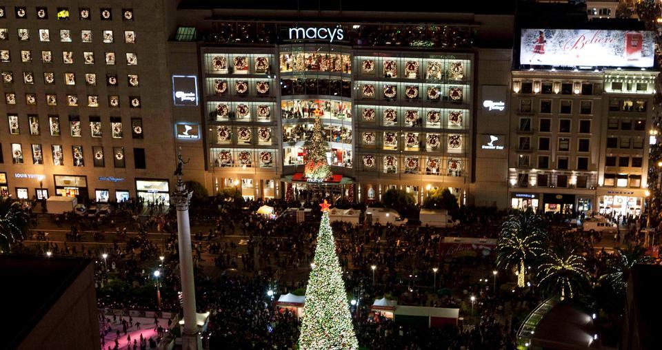 2019 Macy's Great Tree Lighting | Union
