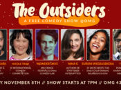 """""""The Outsiders"""" Free Stand-Up Comedy Show   SF"""