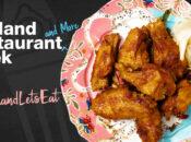 """""""2021 Oakland Restaurant Week"""" Final Weekend (Ends Jan. 18)"""