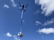 Toilet Paper Delivered by Drone in SF