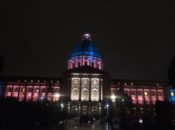 SF City Hall Lights Up Blue, Pink & White for Transgender Day of Visibility | SF