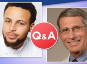 Steph Curry Live Q&A w/ Dr. Fauci on Instagram